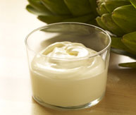 Mayonnaise made with creme fraiche